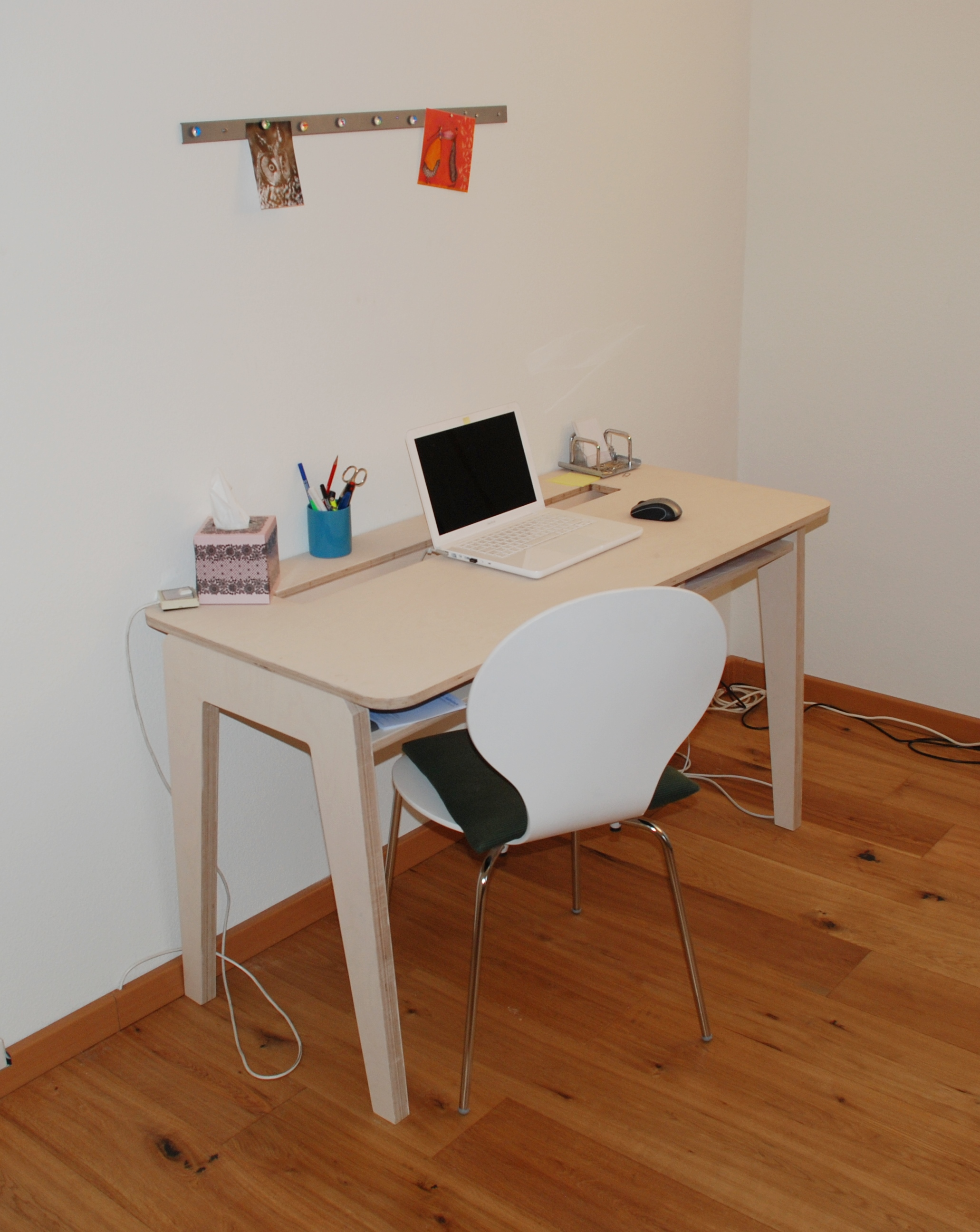 pult birkensperrholz lasiert schreinerei stephan k lin. Black Bedroom Furniture Sets. Home Design Ideas