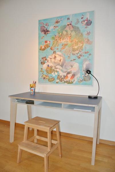 pult lo c birkensperrholz hpl beschichtung schreinerei stephan k lin. Black Bedroom Furniture Sets. Home Design Ideas
