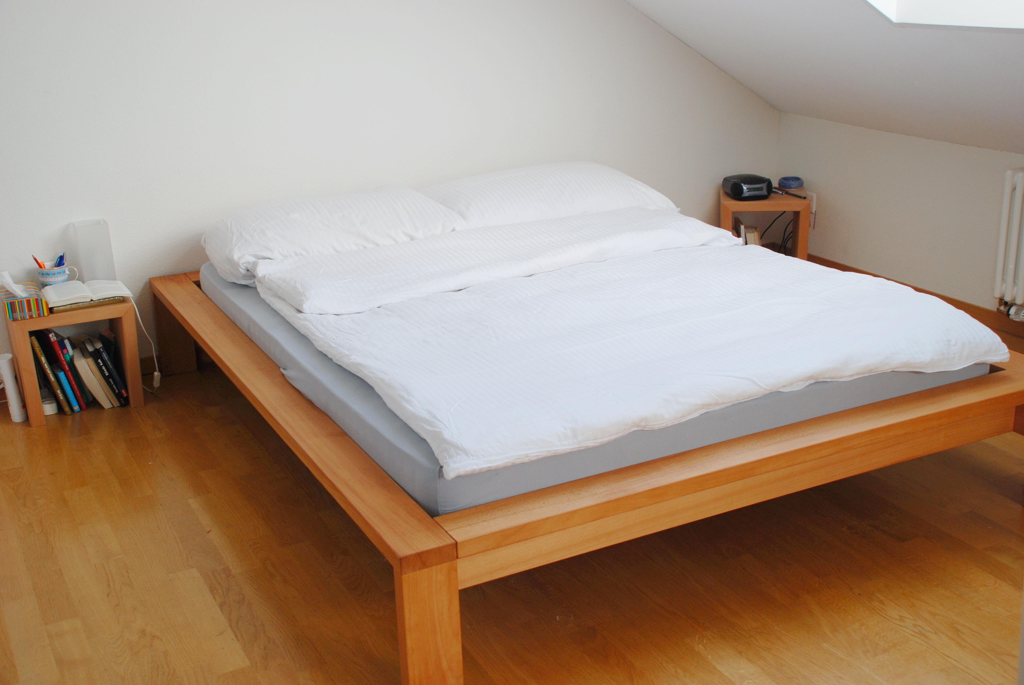 bett buche schreinerei stephan k lin. Black Bedroom Furniture Sets. Home Design Ideas
