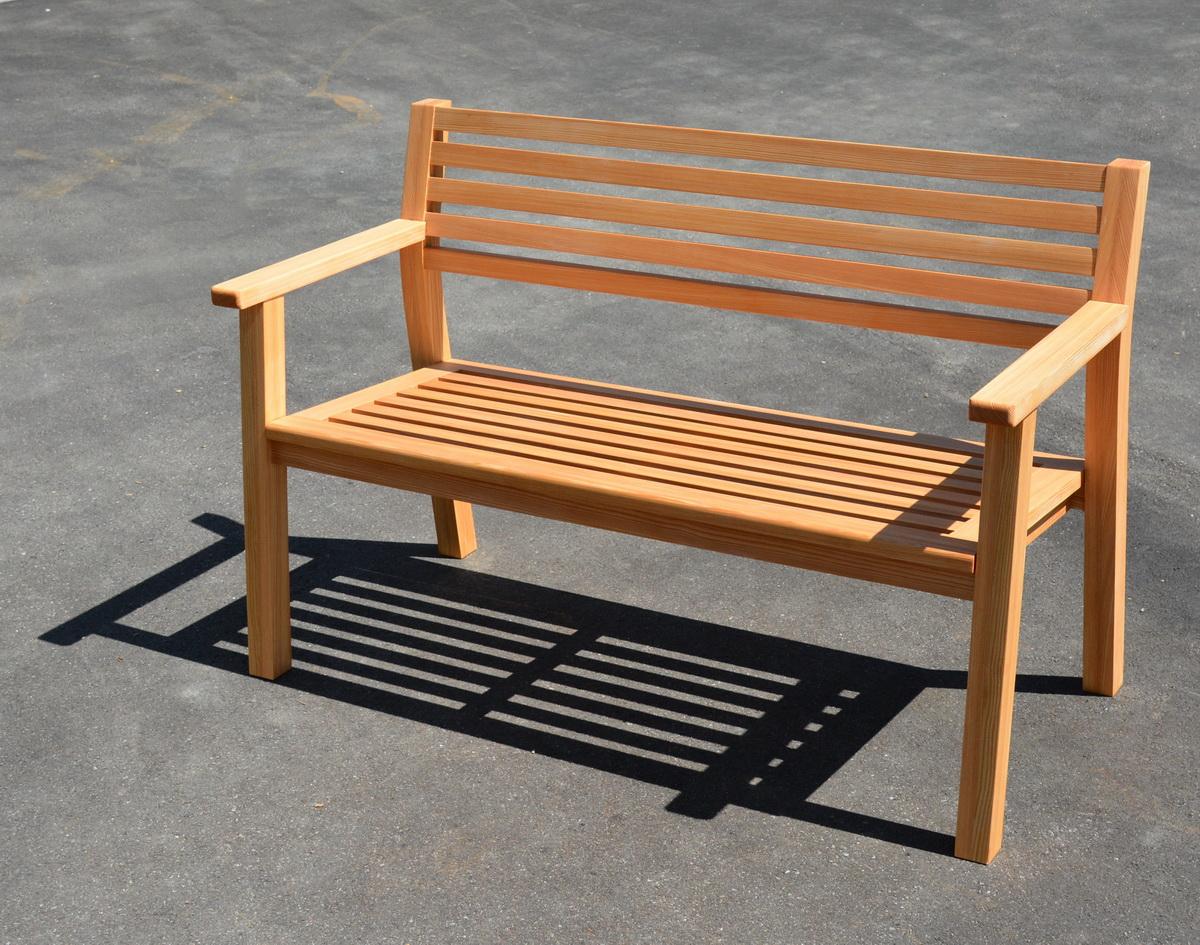 gartenbank l rche schreinerei stephan k lin. Black Bedroom Furniture Sets. Home Design Ideas