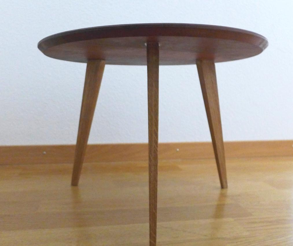beistelltisch birnbaum und eiche schreinerei stephan k lin. Black Bedroom Furniture Sets. Home Design Ideas